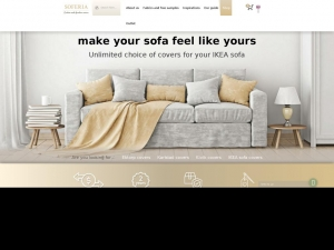 Unique covers for furniture from Soferia